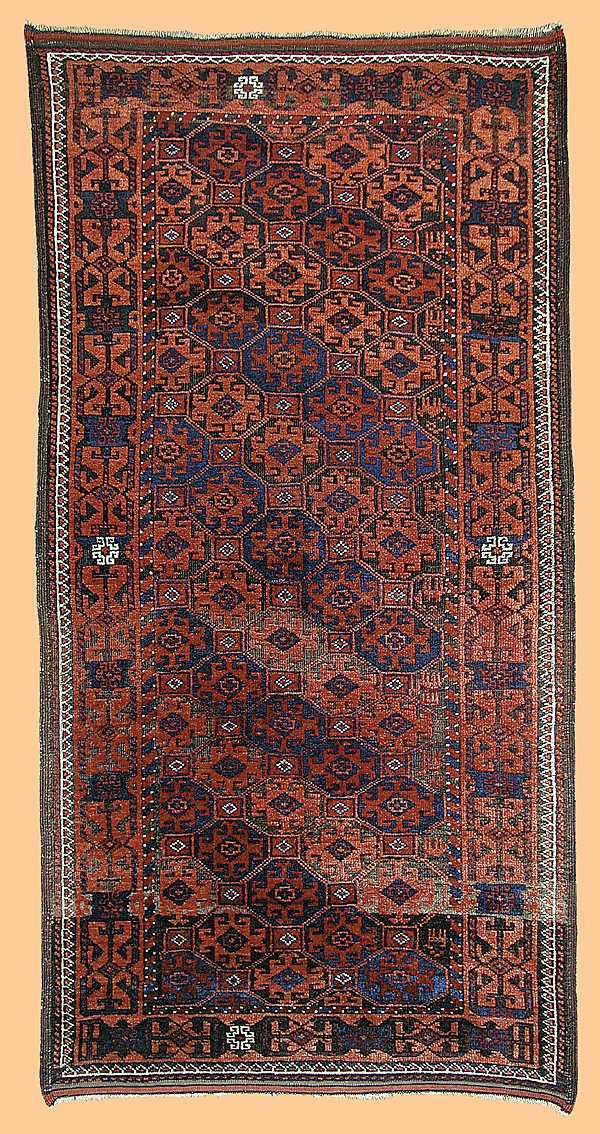 Baluch Rug Persia late 19th C