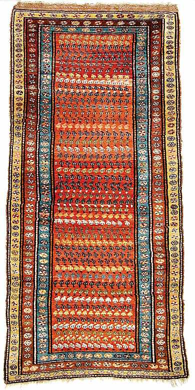 Meshgin Rug Meshgin Shahr Ardabil Province 19th C