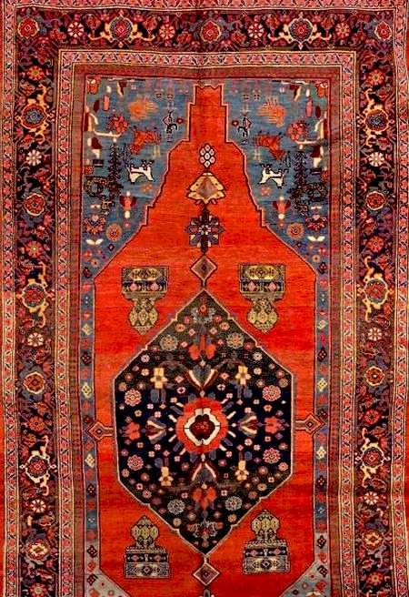 Medallion Bijar Rugs