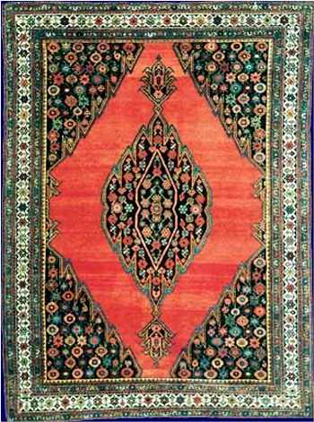 Mazlaghan Rug from Landry and Arcari