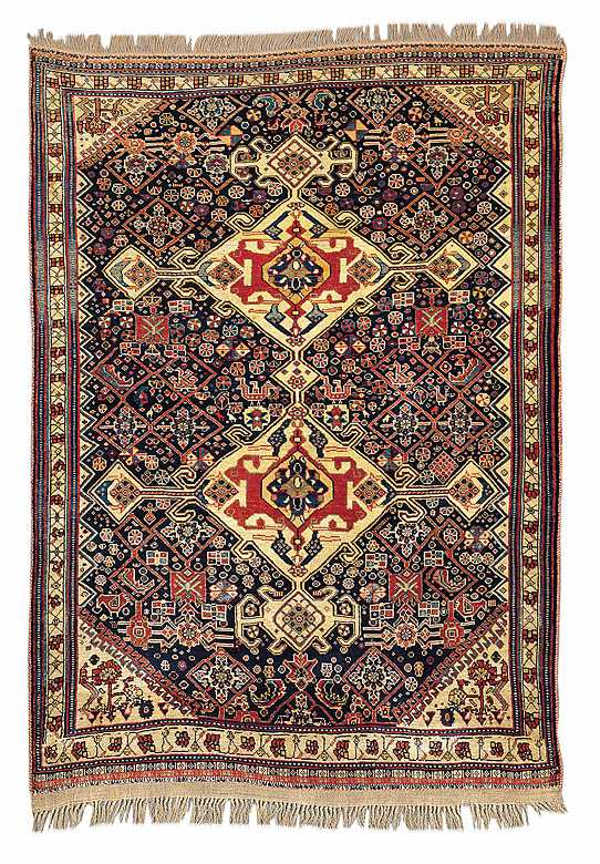 The Engelhardt Qashqai Rug 2nd Half 19th C Fars Province