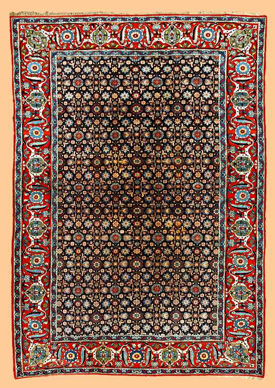 Veramin workshop carpet late 19th c.