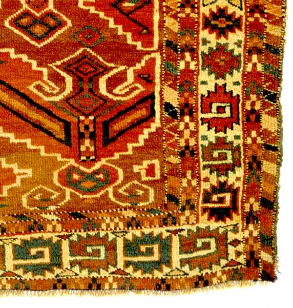 The Dodds Yomut Namazlyk - prayer rug circa 1800-50