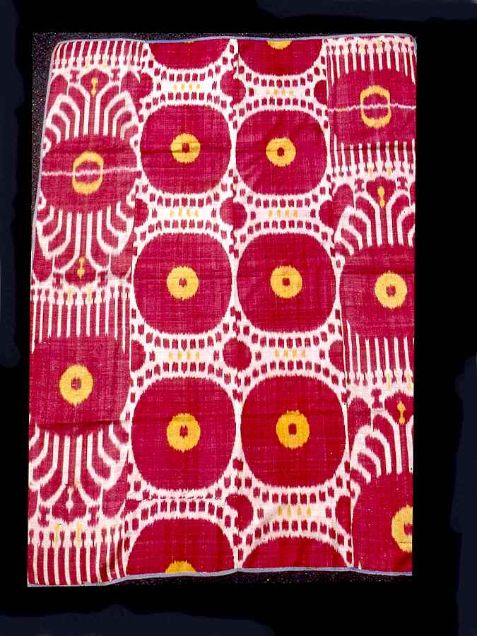 The Wertime Central Asian Ikat from Uzbekistan 19th century