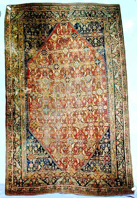 Carpet by the Kashkuli taifeh of the Qashqa'i Confederation