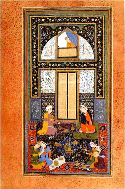 Bahram Gur And The Princess In The Black Pavilion 1538