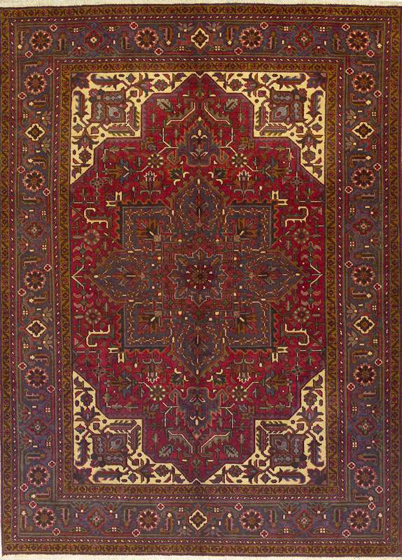 Goravan Carpet with White Spandrels