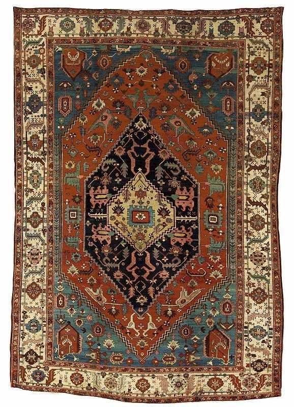 Heriz Carpet circa 1890