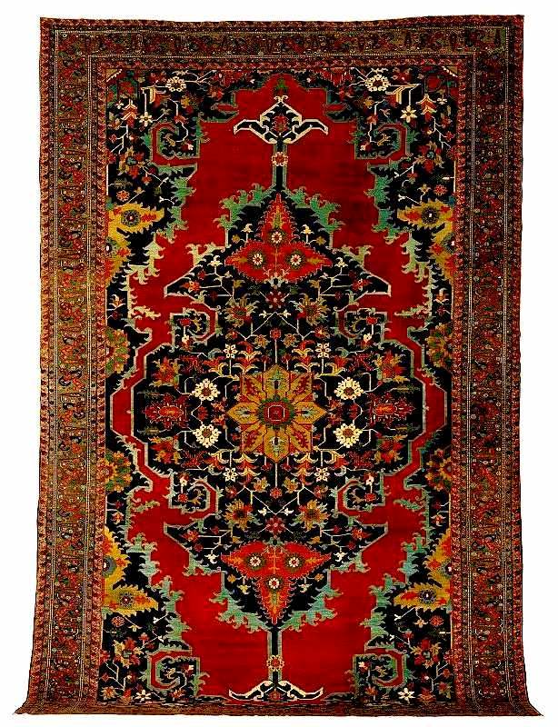 Heriz Carpet circa 1900