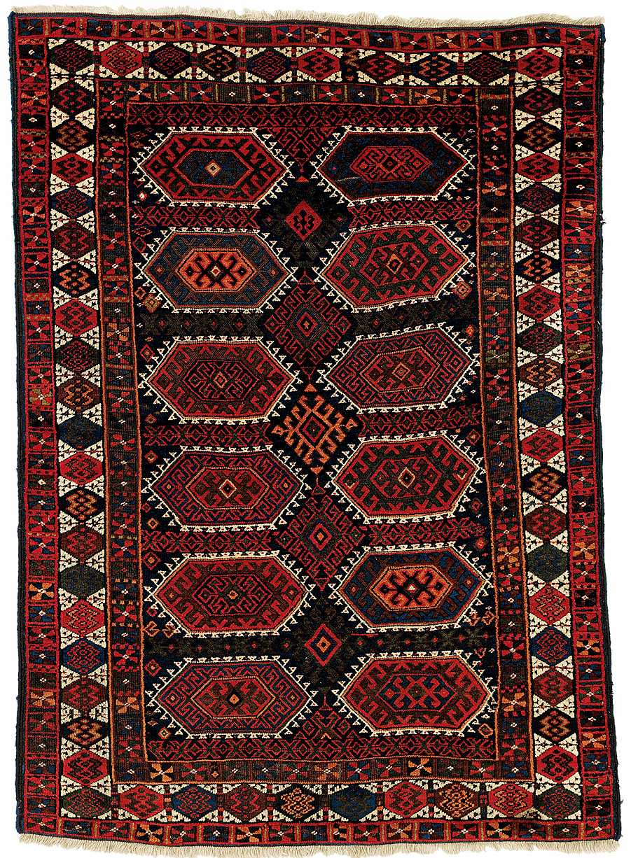 Kurde / Kurdish Rug 2nd half 19th century