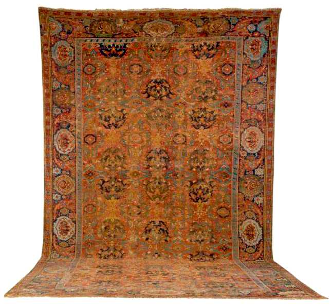 Smyrna Carpet 18th C.