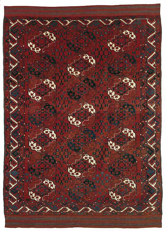 Arsary/Ersari Main Carpet 2nd half 19 century