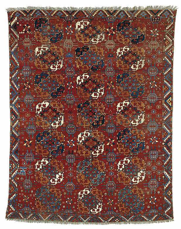 Arsary/Ersari Main Carpet Early 19 C