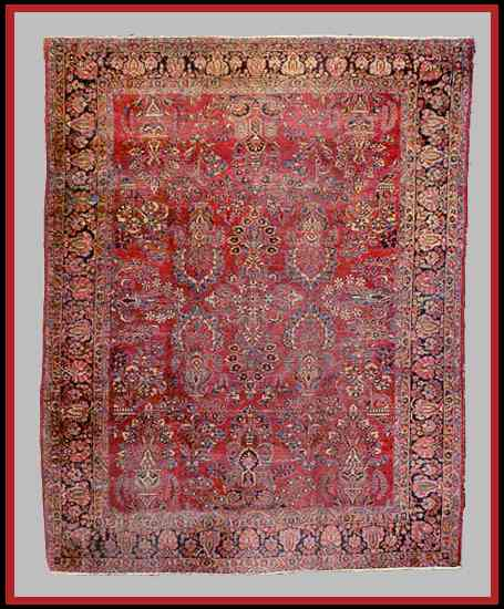 Antique Sarouk/Sarough Rugs and Carpets Guide