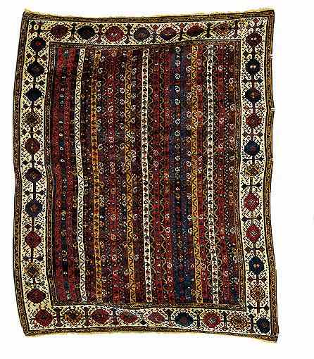 A Khamseh Confederation Rug late 19th C.