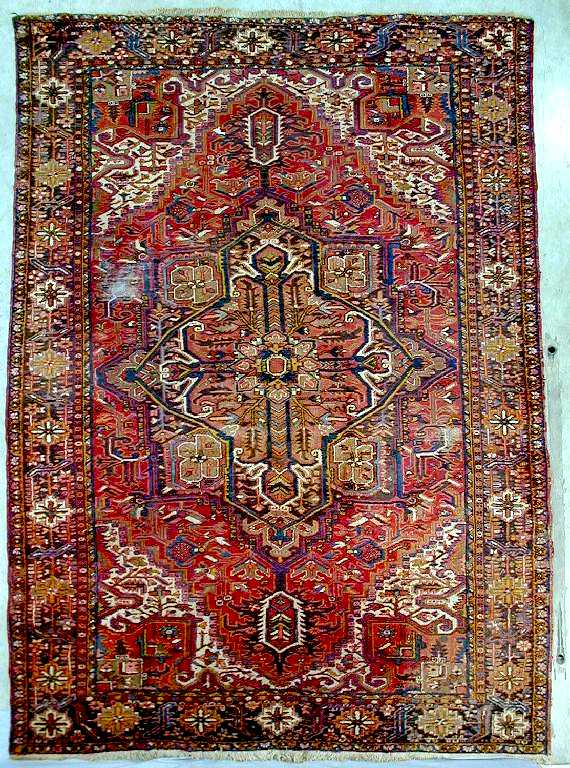 Gorevan Persian carpet,  north west Persia about 1930-40,