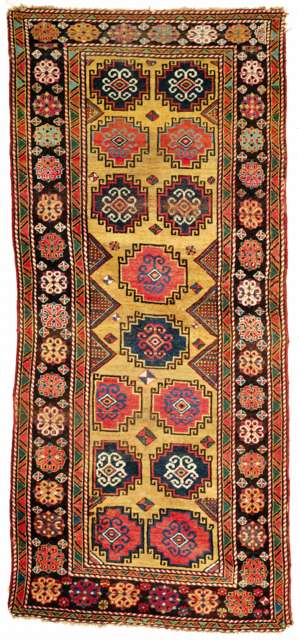 Memling-gul Rug Central Anatolia Early 19th C.