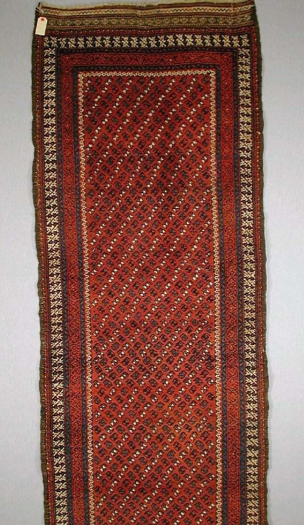 Persian Baluch runner Late 19th C.