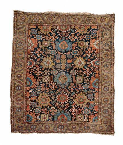 Afshan Heriz Carpet late 19th c.