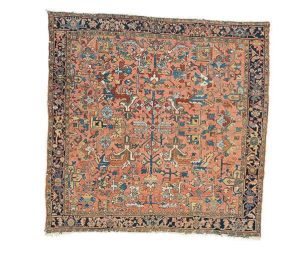 A Heriz carpet, North West Persia, circa 1900
