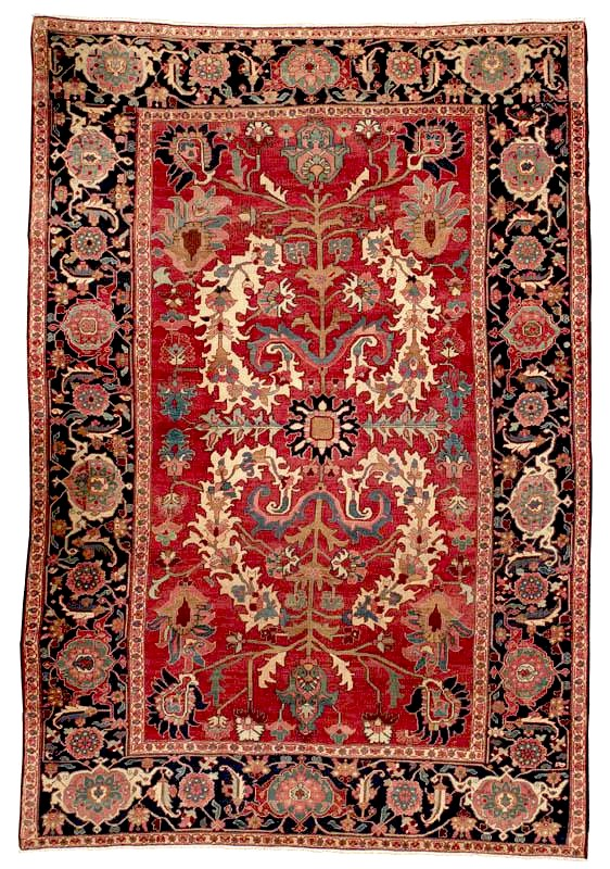Heriz Carpet c. 1900