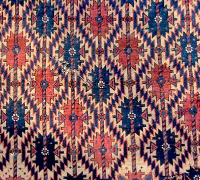 Baluch Rug with Asmalyk design