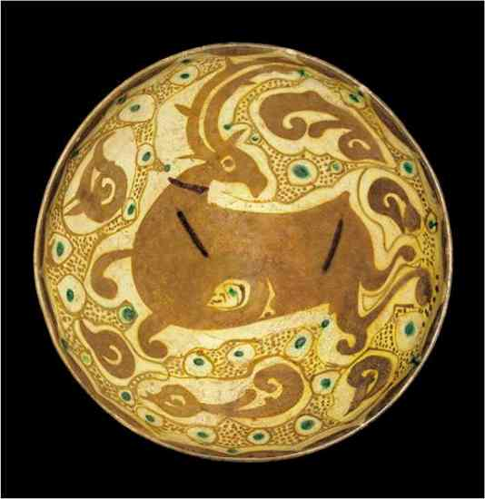 Animal dish, Transoxiana, Circa 10th Century