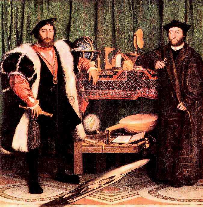 The Ambassadors by Holbein the Younger