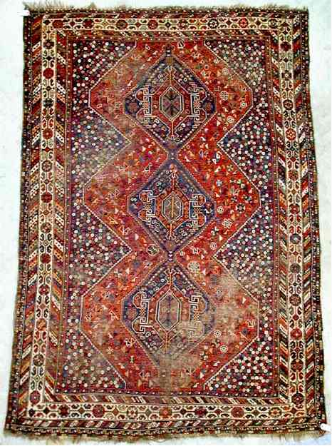 Baharlu Carpet of the Khamseh Confederation