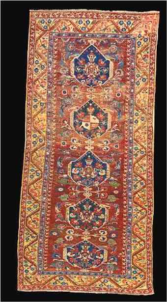Demerci Kula carpet ex James A. Lucas Collection Oriental Rugs