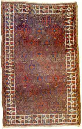 Baluch Rug, Late 19th C.