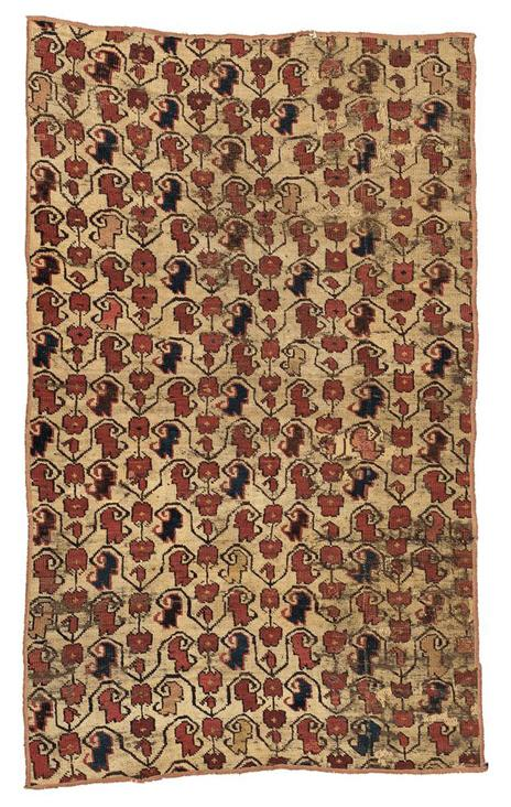 AN Ersari Rug  Fragment, SOUTH TURKESTAN,