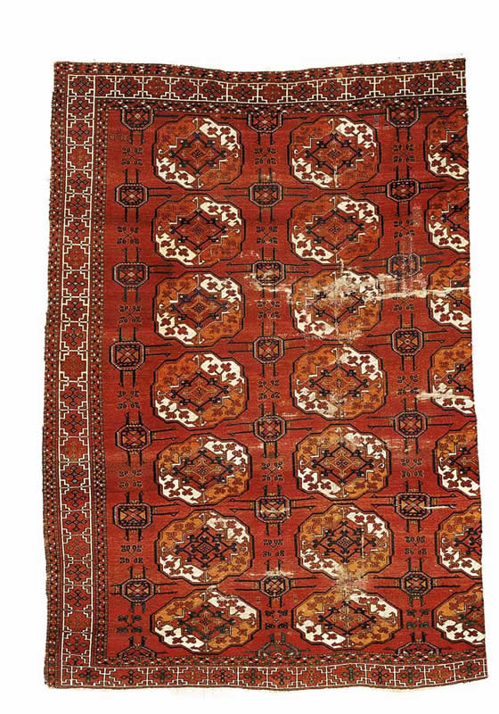 The Antique Saryk Carpet Fragment