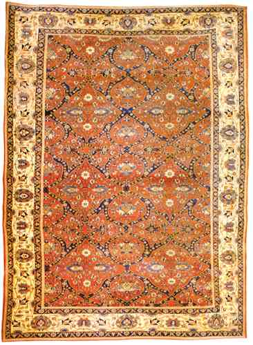 Late 19th Century Antique Feraghan Rug