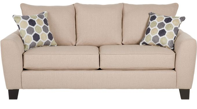Bonita Springs Beige Sleeper Sofa - Transitional, Textured