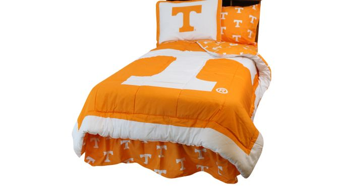 University of Tennessee Orange 2 Pc Twin Bed Set