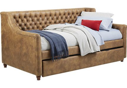 Alena Brown 3 Pc Full Daybed With Trundle