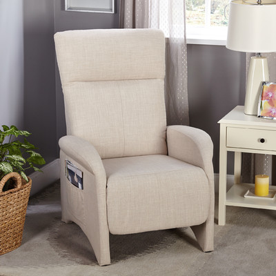 Aberdeen Manual Recliner Upholstery Beige : recliners under 300 - islam-shia.org