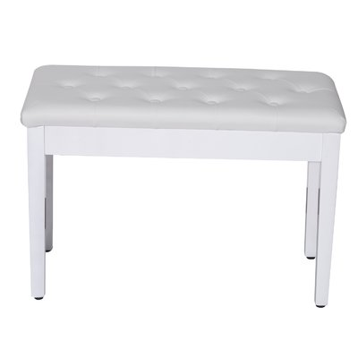 Alsager Piano Upholstered Storage Bench Color White  sc 1 st  Furniture.com & Storage Benches islam-shia.org