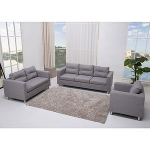 3 Piece Living Room Sofa Sets of Furniture